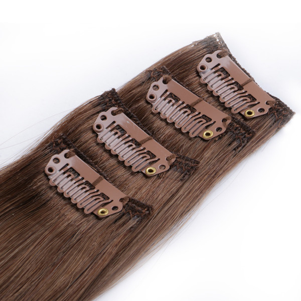 Clip in human hair extensions ponytail  XS064